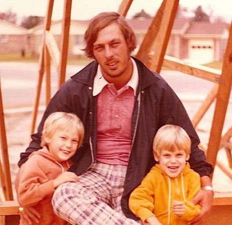 Kenneth Earle Collins - With Ken and Ben At Our New Point Elizabeth Home
